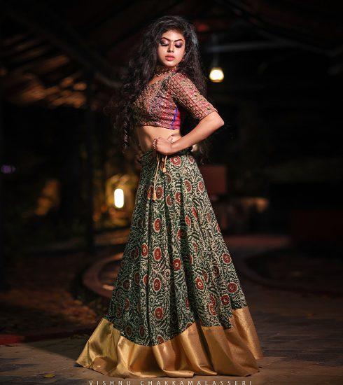 Gopika Unnikrishnan Model from Cochin in a shoot